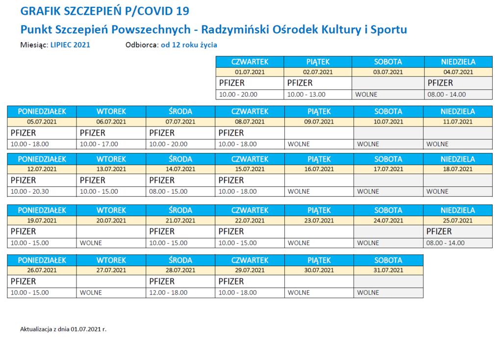 Punkt Szczepień - Grafik lipiec.png