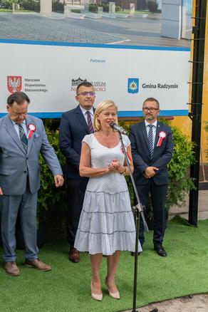 """Galeria Uroczystość """"wbicia łopaty"""" pod budowę samorządowego Muzeum Bitwy Warszawskiej"""
