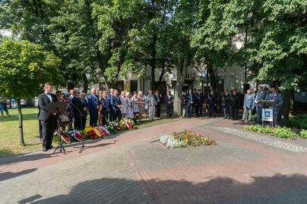 Galeria Uroczystości przy pomniku W. Witosa w Radzyminie