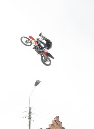 Galeria Pokaz Freestyle Motocross