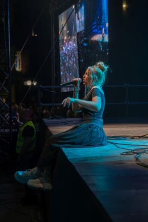 Galeria Scena Młodych: koncert Tomka Grzegorczyka, Magdy Beredy i Viki Gabor