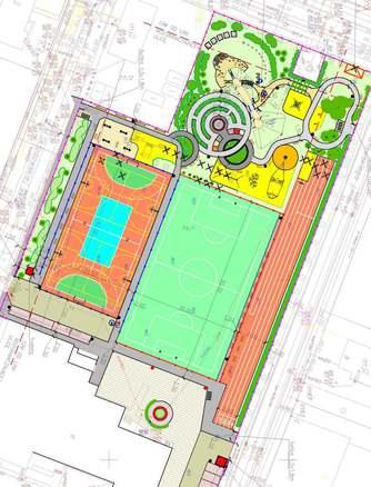 Galeria Podpisanie umowy - budowa kompleksu boisk przy SP2 07.04.2021
